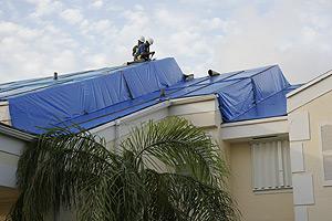 Fema Blue Tarp Roof Program 96