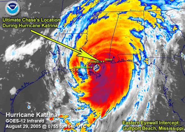 Hurricane katrina storm surge video